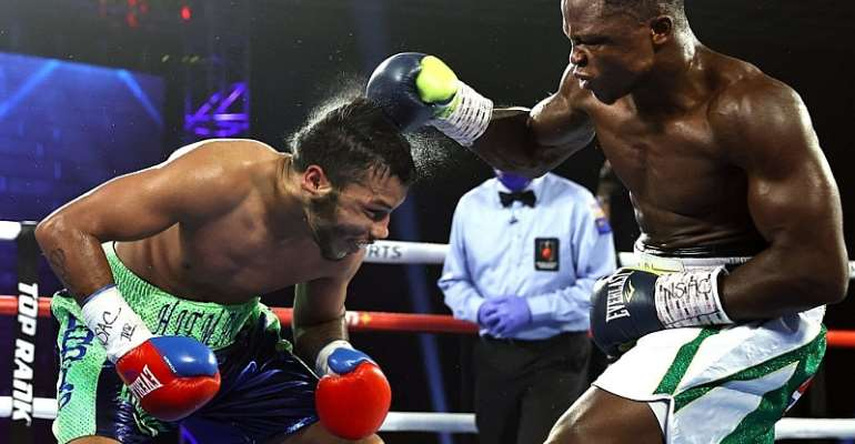 'The last 14 months have been tough' - Dogboe grateful after comeback victory