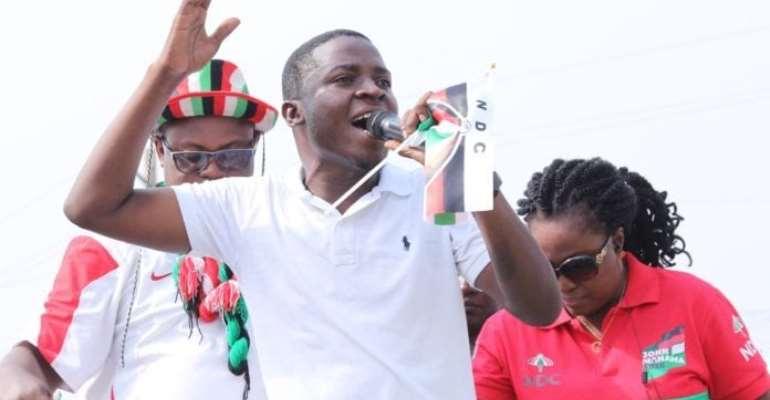 Deputy National Youth Organizer of the NDC, Edem Agbana