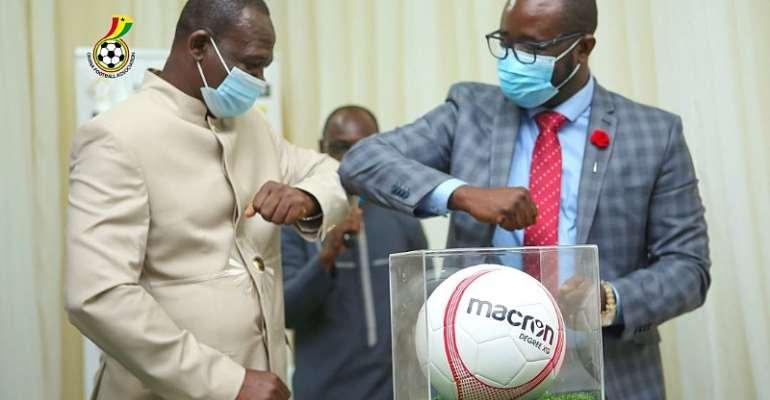 Kurt Okraku Confident Partnership With Macron Will Boost Football Development