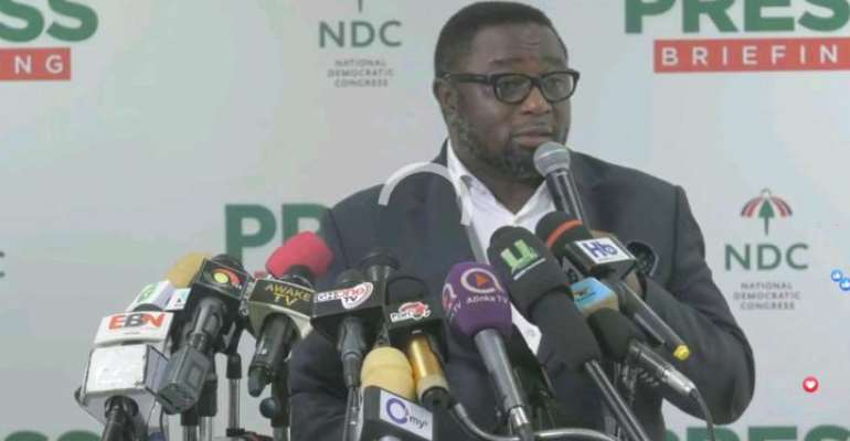 Elvis Afriyie Ankrah - Director of Elections for the NDC