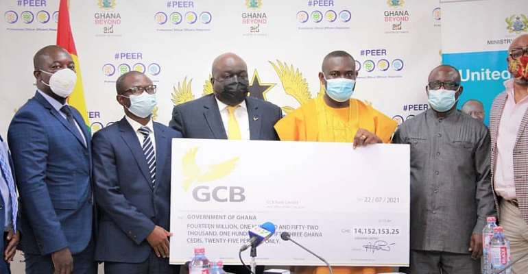 GCB Bank Pays Ghc69.62 Million Dividend To Shareholders In Four Years