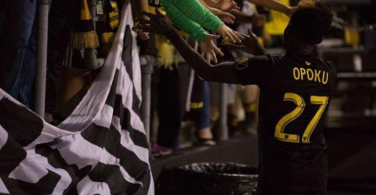 Columbus Crew Manager Praises Performance Ghanaian Midfielder Edward Opoku On His MLS Debut