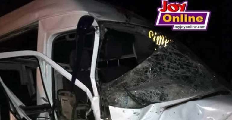 Six In Critical Condition After Gory Potsin Junction Accident On Accra-Cape Coast Highway