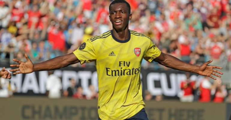 Arsenal Refuses To Send Out Ghanaian Youngster Eddie Nketiah On Loan