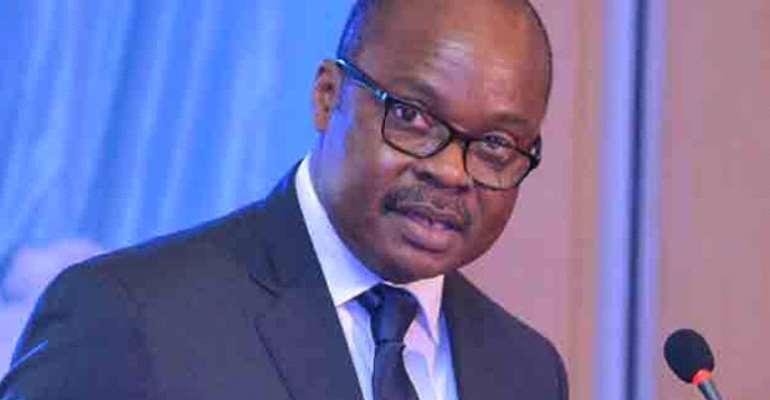 Dr Ernest Addison, Governor of BoG