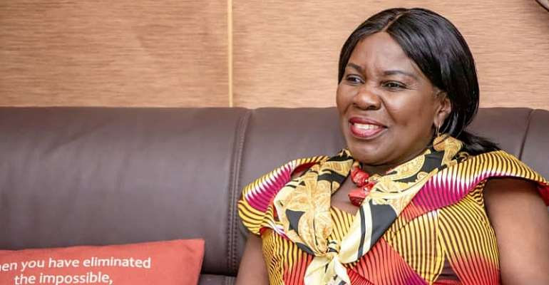 Minister for Sanitation and Water Resources, Hon, Cecilia Dapaah