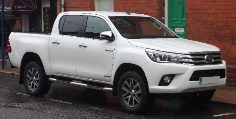 The vehicle white Toyota Hilux vehicle registered ER 3516 -19, was allegedly snatched on July 4, by a pair of armed men in Tamale.