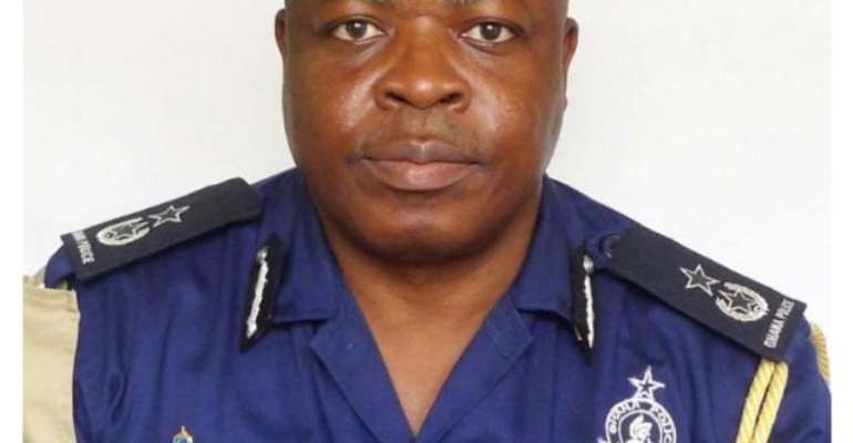 James Oppong is acting IGP of Ghana