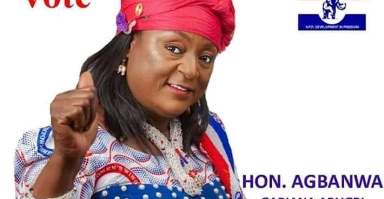 Register to vote for Prosperity: Bawku Central Parliamentary Candidate Hon. Gabiana A. Agbanwa Message to her constituents!