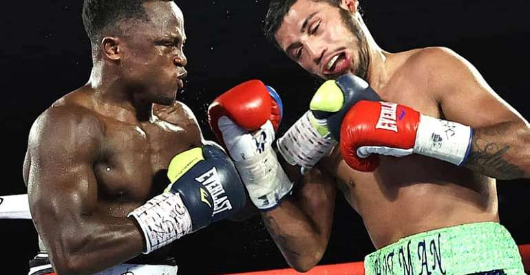 Dogboe Thanks Ghanaians For Support After Comeback Victory