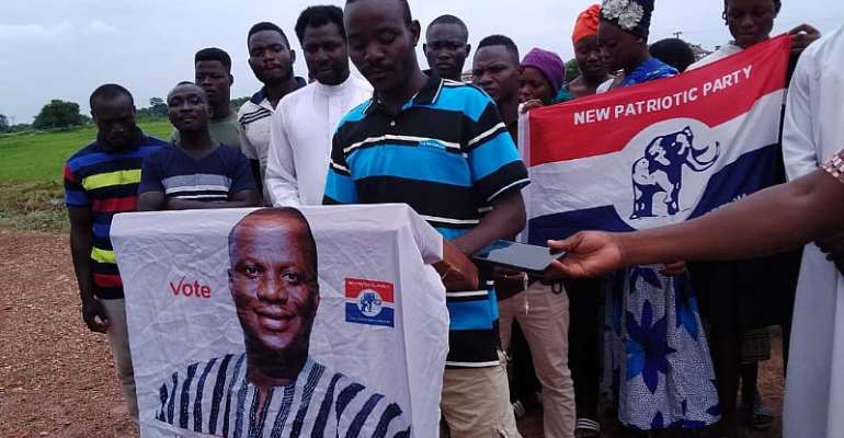 We were not influenced by any party to reject your rice, we really need jobs — Busunu youth to Abu Jinapor