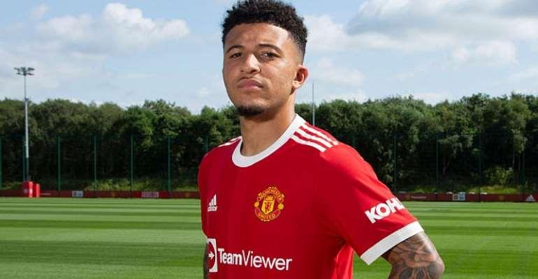 PL: Man Utd announce £73m Jadon Sancho signing from Dortmund