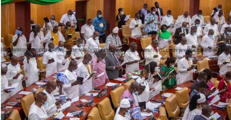 Honeymoon period is over; time to represent aspirations of Ghanaians — Bagbin to MPs