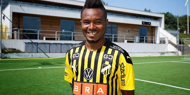 Swedish club BK Hacken announce signing of Ghanaian attacker Nasiru Mohammed