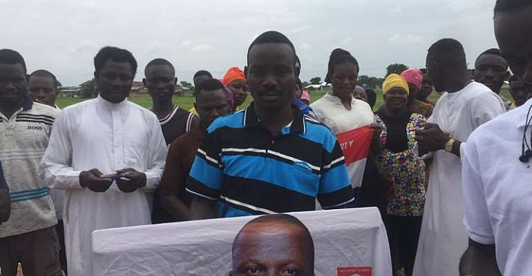 West Gonja: We didn't know the bags of rice were for our chief, elders; we're sorry  — Busunu NPP youth apologises for rejecting Abu Jinapor rice