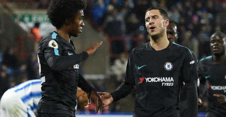 Maurizio Sarri Plans Talks With Chelsea's Eden Hazard, Thibaut Courtois And WIllian