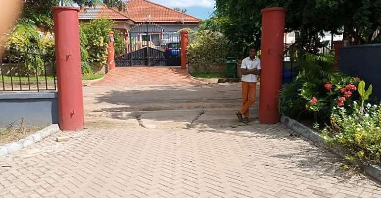 Removed gate