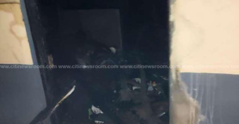 Accra: Fire Ravages House At Kokompe