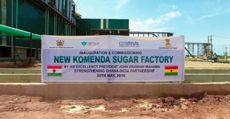 Trade Minister's promise to open Komenda Sugar factory 'a mere rhetoric,' we've heard it before – Group