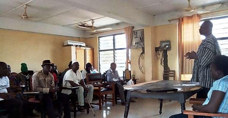 Adaptation Fund Project kicks-off in Nadowli-Kaleo District