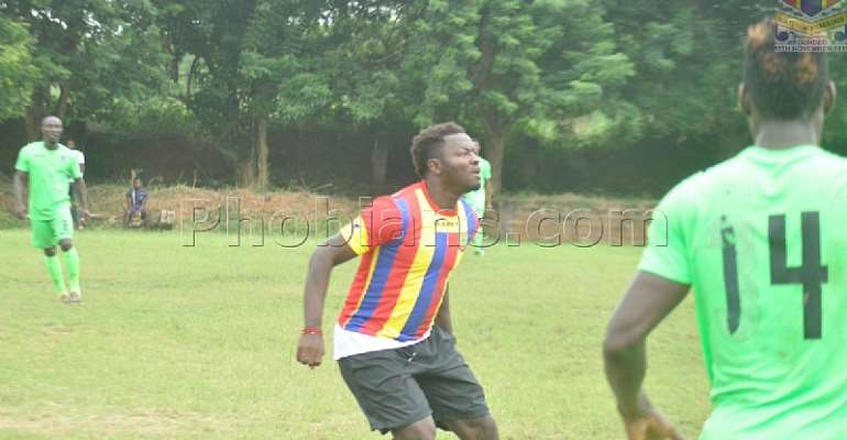 PICTURES: Hearts of Oak Defeat Bechem United 3:0 In Club Friendly As Sulley Muntari Impresses