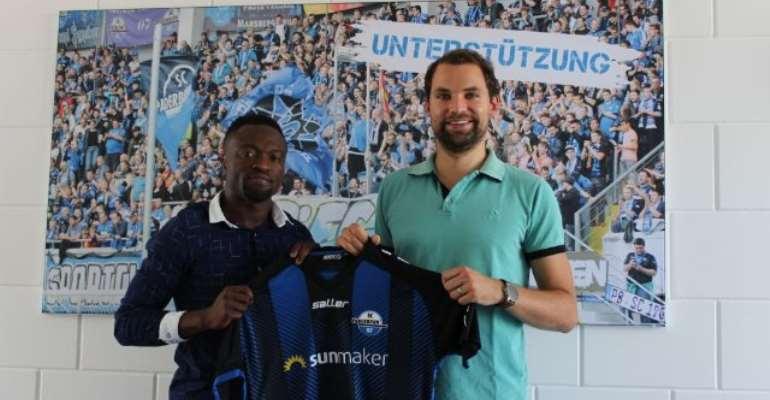 Bernard Tekpetey Completes Switch From Schalke To Paderborn