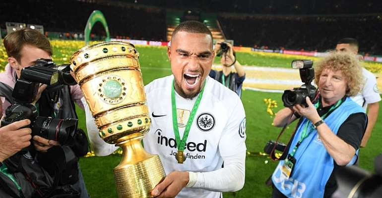Shocking Report Linking Kevin-Boateng With Eintracht Frankfurt Has Left Fans Exhausted