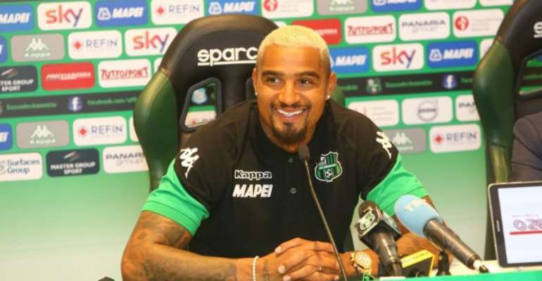 KP Boateng: I Can't Wait To Play Against AC Milan At San Siro