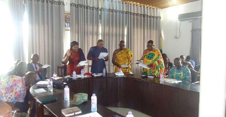 Bono Regional Coordinating Council Inaugurated In Sunyani