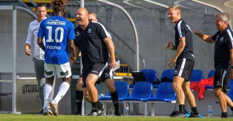 Abdul Fatawu Safiu Nets Sensational Hat-Trick To Steer Trelleborgs FF To Victory