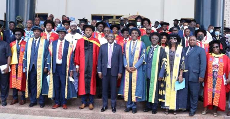 'Help Solve Ghana's Problems' — Bawumia tells Fresh Graduates