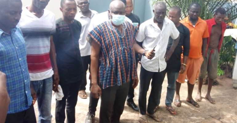 Akatsi South: MCE mourns with families of pastor and wife allegedly murdered at Ayitikope