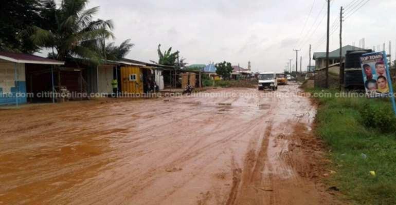 Patang-Abokobi Roads Get Facelift