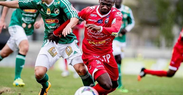 Seth Paintsil Scores, Assists For FF Jaro In Home Draw With AC Kajaani