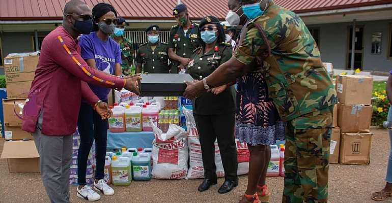 Speciallady, 3FM Support Women's Health With Donations To 37 Military Hospital