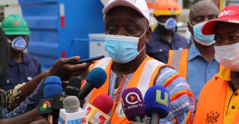 First Disinfection Exercise Stopped Our Covid-19 Cases – North East Regional Minister