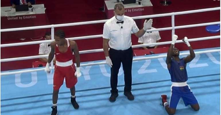 Tokyo 2020 Olympics: Sulemanu Tetteh seals round of 16 berth after beating Marte de la Rosa