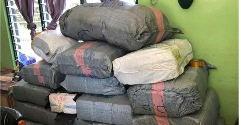 Immigration Service intercepts 1,550 parcels of marijuana