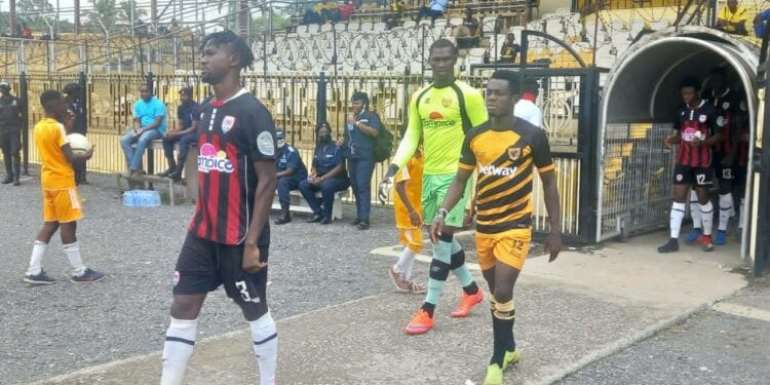 Ashgold v Inter Allies Match fixing allegation: Seth Osei, four others meet investigation team on Thursday
