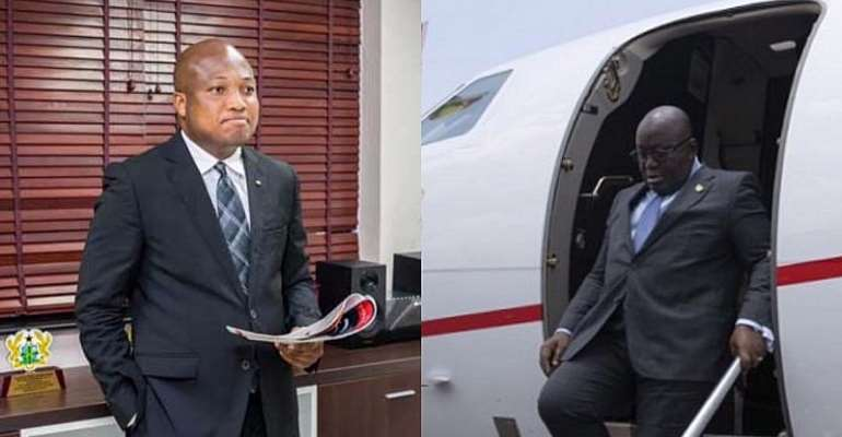 No retreat, no surrender — Ablakwa chases gov't for cost of Akufo-Addo's private jet trips