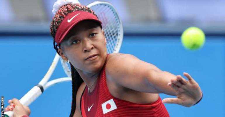 Second seed Naomi Osaka is the highest ranked player remaining in the women's draw