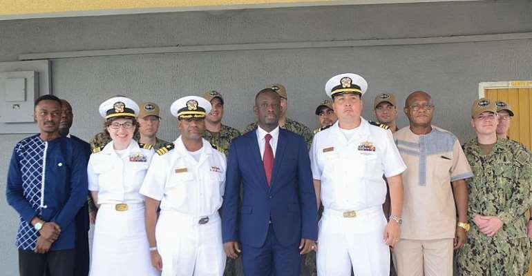 US Navy Band Ends 3day Visit To Sekondi-Takoradi