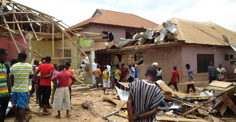 Upper Denkyira West: Two Dead, 22 Others Injured In Gas Explosion