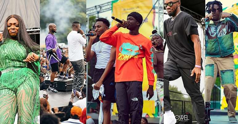 Sarkodie, King Promise shut down Ghana Party In The Park