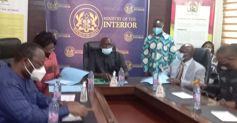 Ejura probe: Ministerial Committee presents its report to Interior Minister
