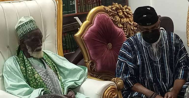 Alhaji Said Sinare commiserates with National Chief Imam over the loss of son