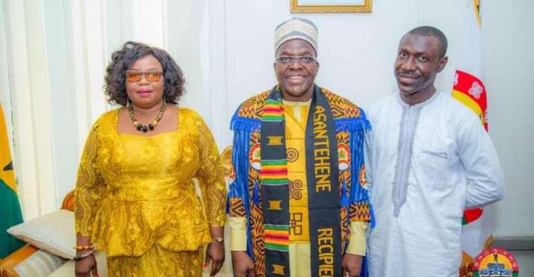 Nadowli Kaleo MP celebrates Bagbin