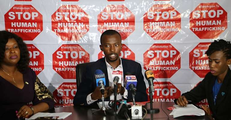 Devatop Centre For Africa Development Holds TALKAM World Press Conference to Commemorate 2018 World Day Against Trafficking in Persons