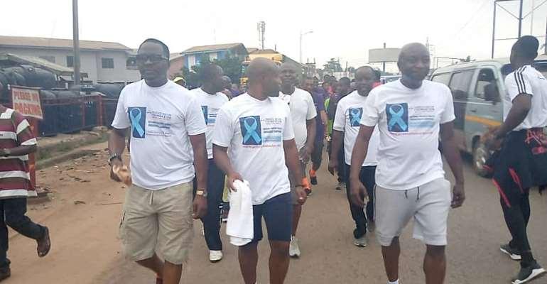 OTEC FM Records Massive Turnout In Maiden Health Walk