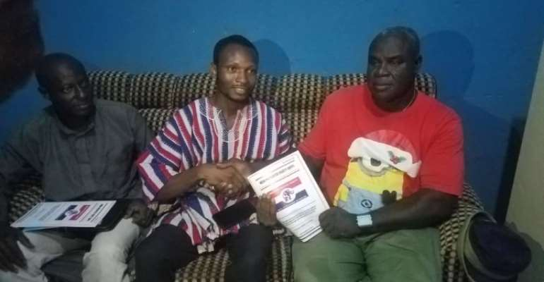 Former UDS SRC President Picks Nomination Forms To Contest NPP Parliamentary Primaries